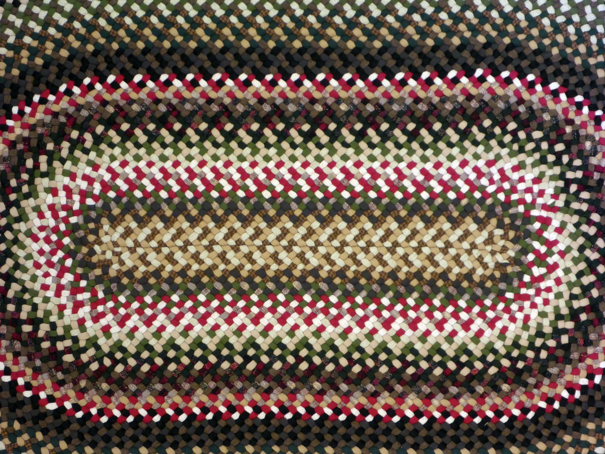 Wool Braided Rug Custom Rugs